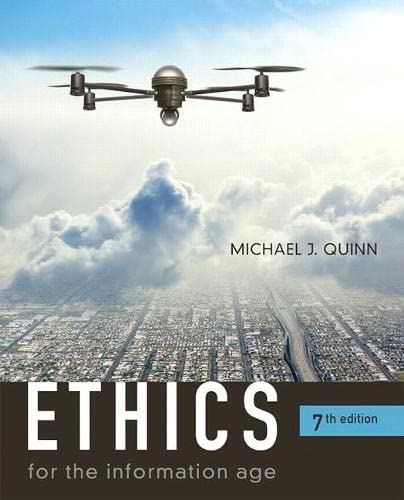 9780134296548: Ethics for the Information Age (7th Edition)
