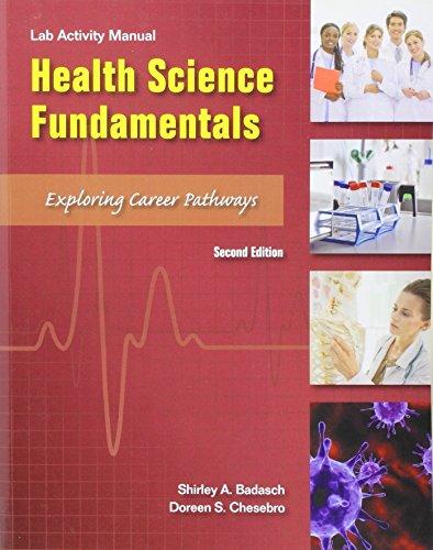 9780134298177: Lab Manual Health Science Fundamentals (2nd Edition)