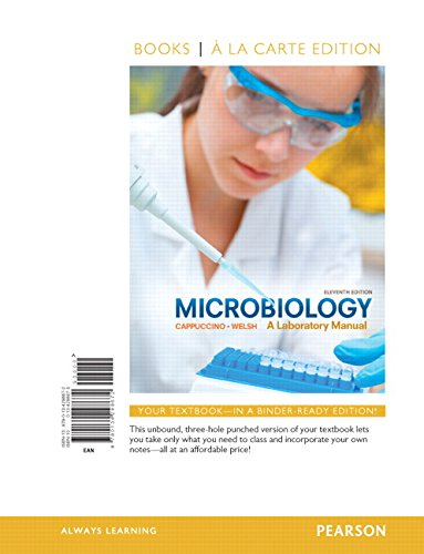 9780134298672: Microbiology: A Laboratory Manual, Books a la Carte Edition (11th Edition)