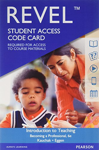 9780134303307: Revel for Introduction to Teaching: Becoming a Professional -- Access Card