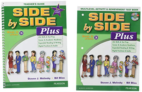 9780134306629: Side by Side Plus TG 3 with Multilevel Activity & Achievement Test Bk & CD-ROM