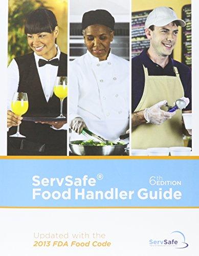 9780134311098: ServSafe Food Handler Guide, Update-10 Pack