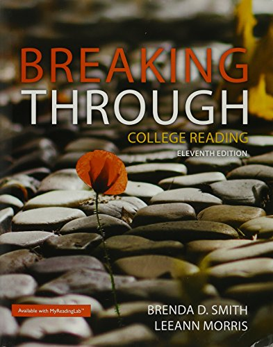 9780134318165: Breaking Through: College Reading; Expanding Your Vocabulary