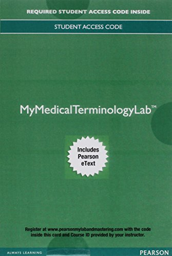 MyMedicalTerminologyLab with Pearson eText--Access Card--for Medical Language Format: ...