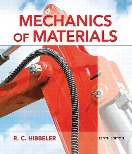 9780134319650: Mechanics of Materials (10th Edition)