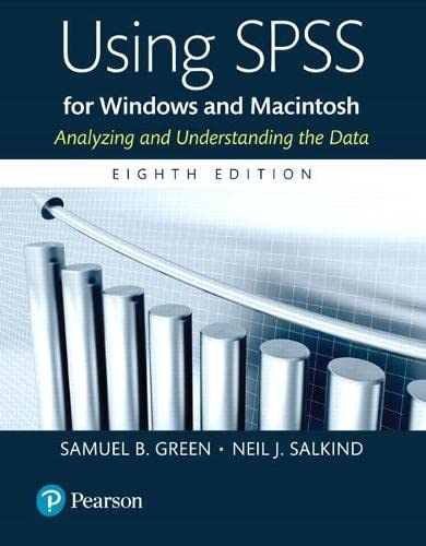 9780134319889: Using SPSS for Windows and Macintosh, Books a la Carte (8th Edition)