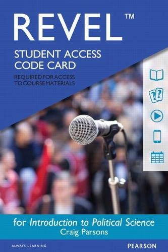 9780134320441: REVEL for Introduction to Political Science -- Access Code Card