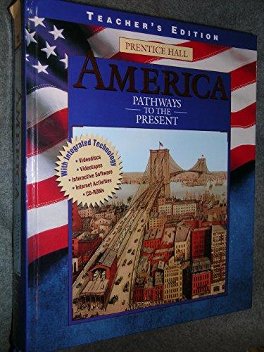 9780134324029: Te America Pathways To Present