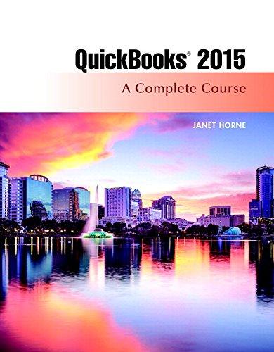 9780134325903: Quickbooks 2015: A Complete Course