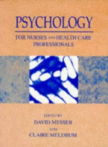 9780134331782: Psychology Nurses Health Care Professnls