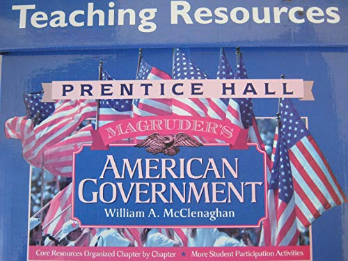 9780134332055: Set of 21 Teacing Resource Books Prentice Hall Magruder's American Government