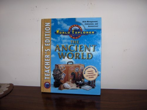 9780134336886: World Explorer: The Ancient World (Teacher's Edition)