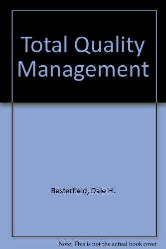 9780134338064: Total Quality Management