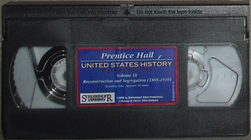 9780134340395: UNITED STATES HISTORY VIDEO COLLECTION TAPES VOL 10 FIRST EDITION [VHS]