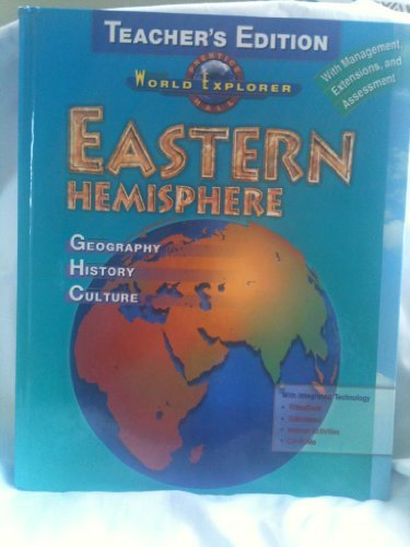 Prentice Hall World Explorer Eastern Hemisphere Teacher: Jacobs