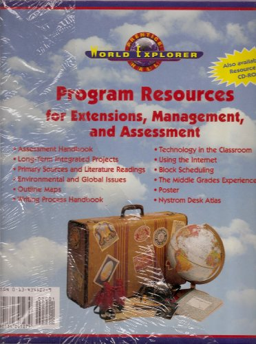 9780134341279: Prentice Hall World Explorer Program Resources for Extensions, Management, and Assessment (Prentice Hall World Explorer)