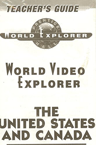 9780134342627: WORLD VIDEO EXPLORER:THE UNITED STATES AND CANADA VIDEOTAPE 1998 [VHS]