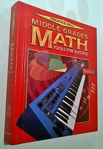 9780134346830: Middle Grades Math: Tools for Success, Course 2