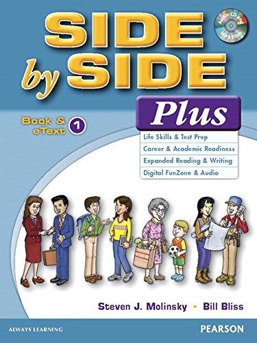 9780134346984: Value Pack: Side by Side Plus 1 Student Book and eText with Activity Workbook and Digital Audio
