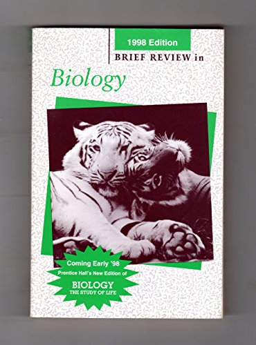 9780134348162: Brief Review in Biology (1998 Edition)