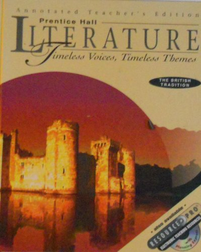 9780134348667: The British Tradition Annotated Teacher's Edition (Timeless Voices Timeless Themes)
