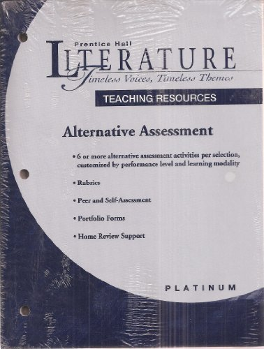Literature-Timeless Voices, Timeless Themes, Platinum Level, Grade 10 Teaching Resources With ...