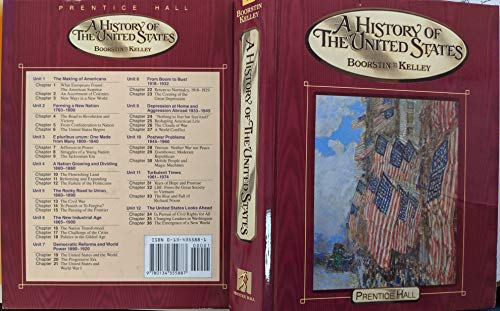 9780134355887: A History of the United States
