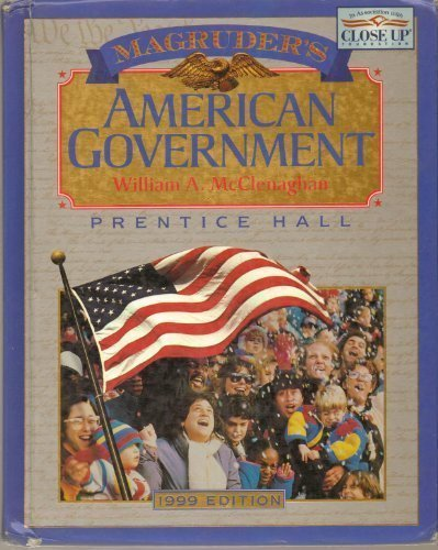 1999 Magruder's American Government: William A. McClenaghan