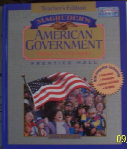 9780134359861: Magruder's American Government Teacher's Edition
