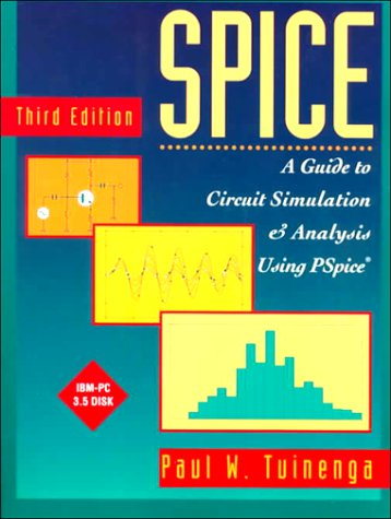 9780134360492: Spice: A Guide to Circuit Simulation and Analysis Using Pspice.Book and Disk