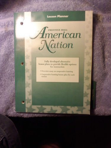 9780134361291: Lesson Planner (The American Nation)