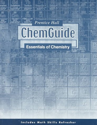 9780134362342: Chemguide: Essentials of Chemistry
