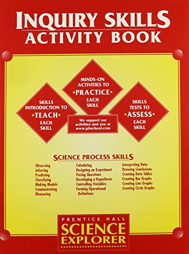 9780134363677: Science Explorer: Inquiry Skills- Activity Book