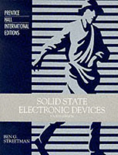 9780134363790: Solid State Electronic Devices (Prentice-Hall international editions)