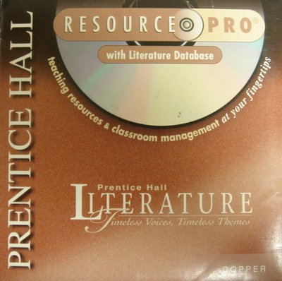 9780134363899: PH Literature Copper Level Timeless Voices, Timeless Themes: Literature Database (Teaching Resources, Literature Database, Planning Express, Assessment Resources, Resource Pro Guided Tour)