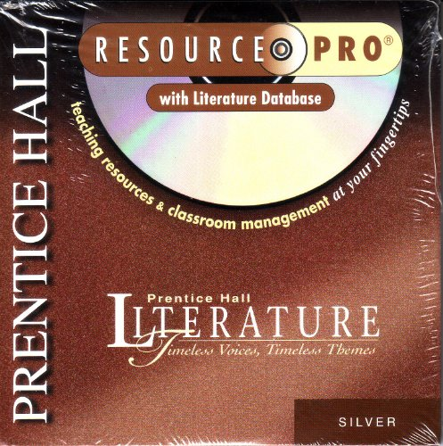 9780134363912: Timeless Voices, Timeless Themes, Silver Edition Resource Pro with Literature Database