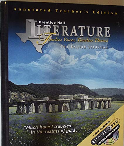 Prentice Hall Literature Timeless Voices, Timeless Themes: multiple