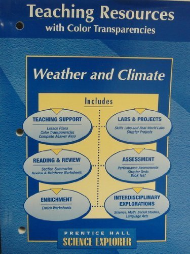 9780134366371: Science Explorer Environmental Science: Teaching Resources with Color Transparencies by Prentice Hall (2000) Paperback
