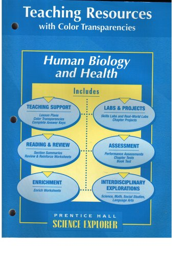 9780134366395 Science Explorer Human Biology And Health