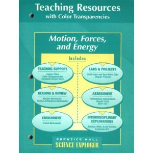 9780134366418: Motion, Forces and Energy Teaching Resources with Color Transparencies