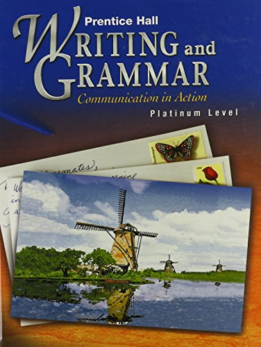 Prentice Hall Writing and Grammar: Communication in: Joyce Armstrong Carroll,