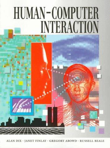 9780134372112: Human-computer Interaction