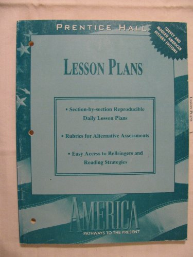 9780134372341: Lesson Plans (Prentice Hall America Pathways to the Present)
