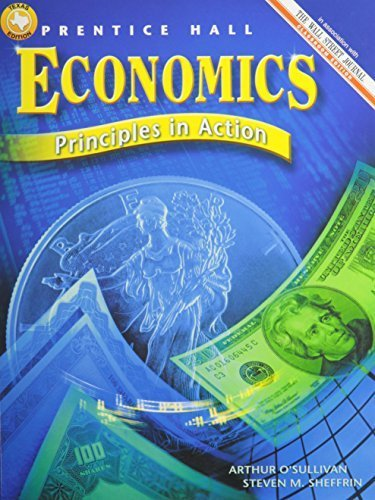 9780134373300: Economics: Principles in Action, Teacher's Edition by O'sullivan (2001) Hardcover
