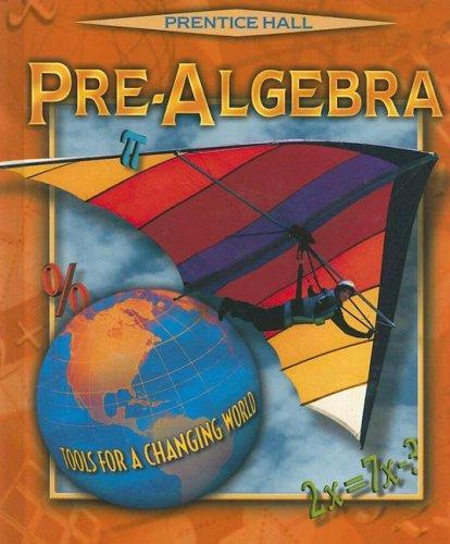 9780134373317: PRE-ALGEBRA 4E STUDENT ED. 2001C