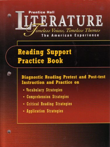 Prentice Hall Literature Timeless Voices, Timeless Themes: Prentice Hall staff