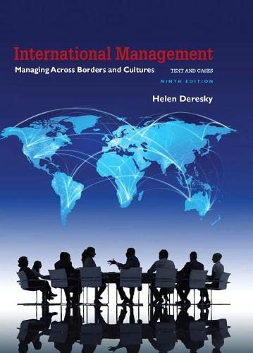 9780134376042: International Management: Managing Across Borders and Cultures, Text and Cases (9th Edition)