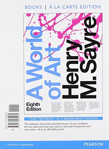 9780134377476: World of Art, Books a la Carte Edition Plus REVEL - Access Card Package, 8/e (8th Edition)
