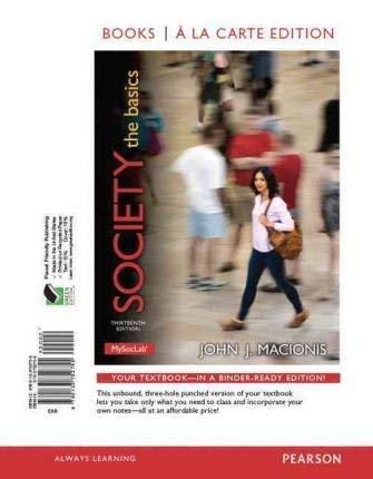 9780134379067: Society: The Basics