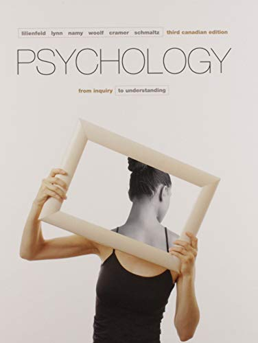 9780134379098: Psychology: From Inquiry to Understanding, Third Canadian Edition Plus MyPsychLab with Pearson eText -- Access Card Package (3rd Edition)